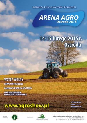 Arena Agro Ostróda 2015 – nowe targi