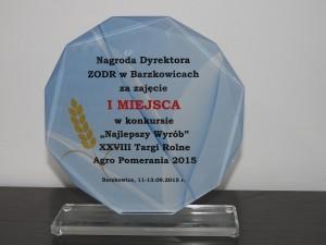 Fosfan nagrodzony w Barzkowicach!