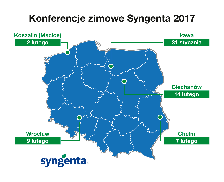 ZAPROSZENIE na konferencje zimowe SYNGENTA