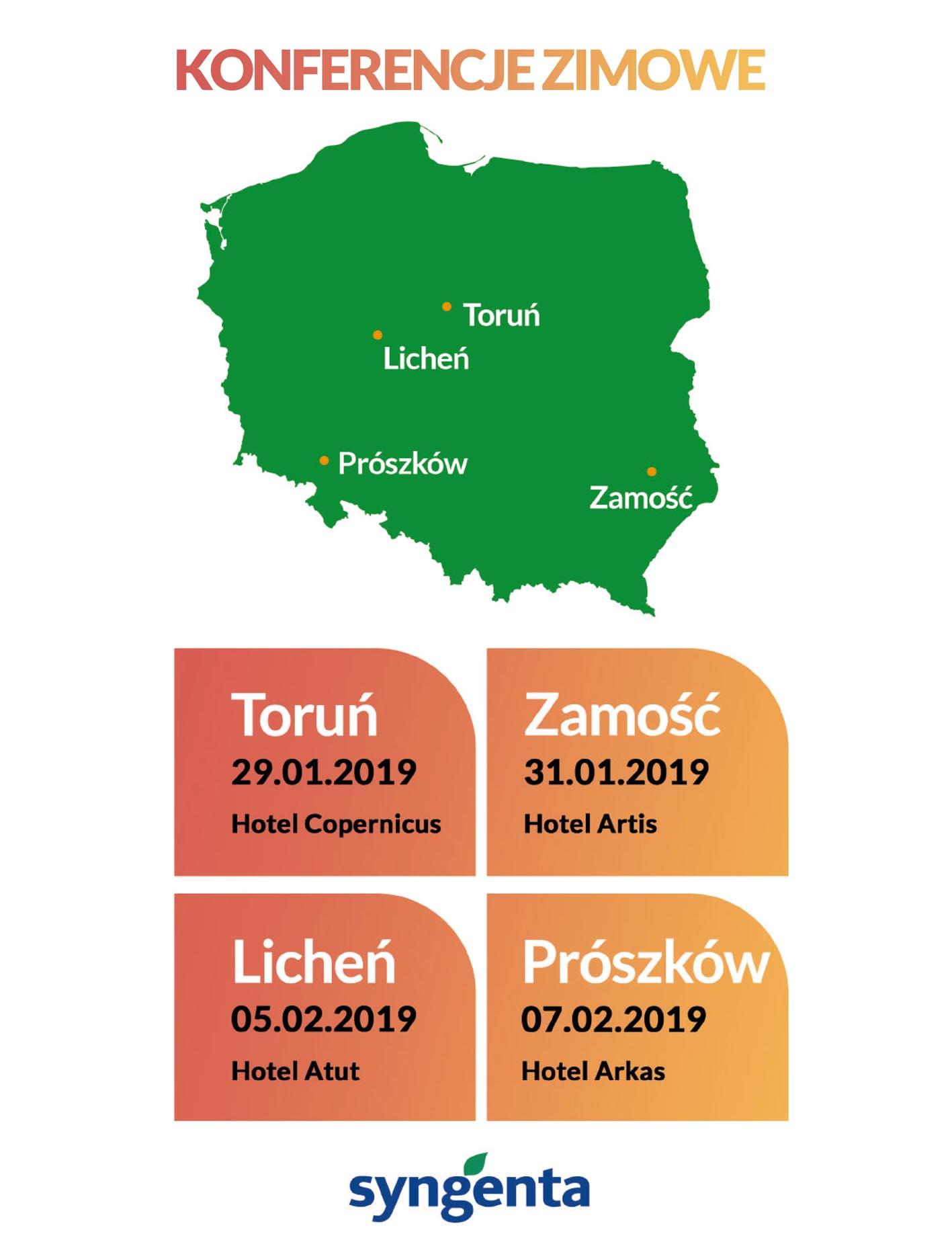 Konferencje Zimowe Syngente 2019