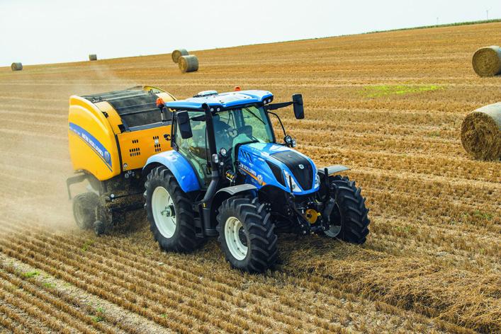 Nowy model w rodzinie ciągników T6 marki New Holland