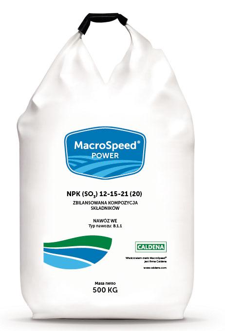 MacroSpeed POWER – Moc uderzenia składników. Nowość w ofercie Caldena!